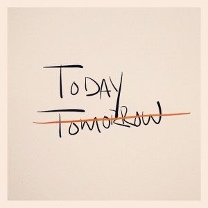 today - tomorrow (with a trace on it)