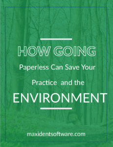 How Going Paperless Can Save Your Practice and the Environment