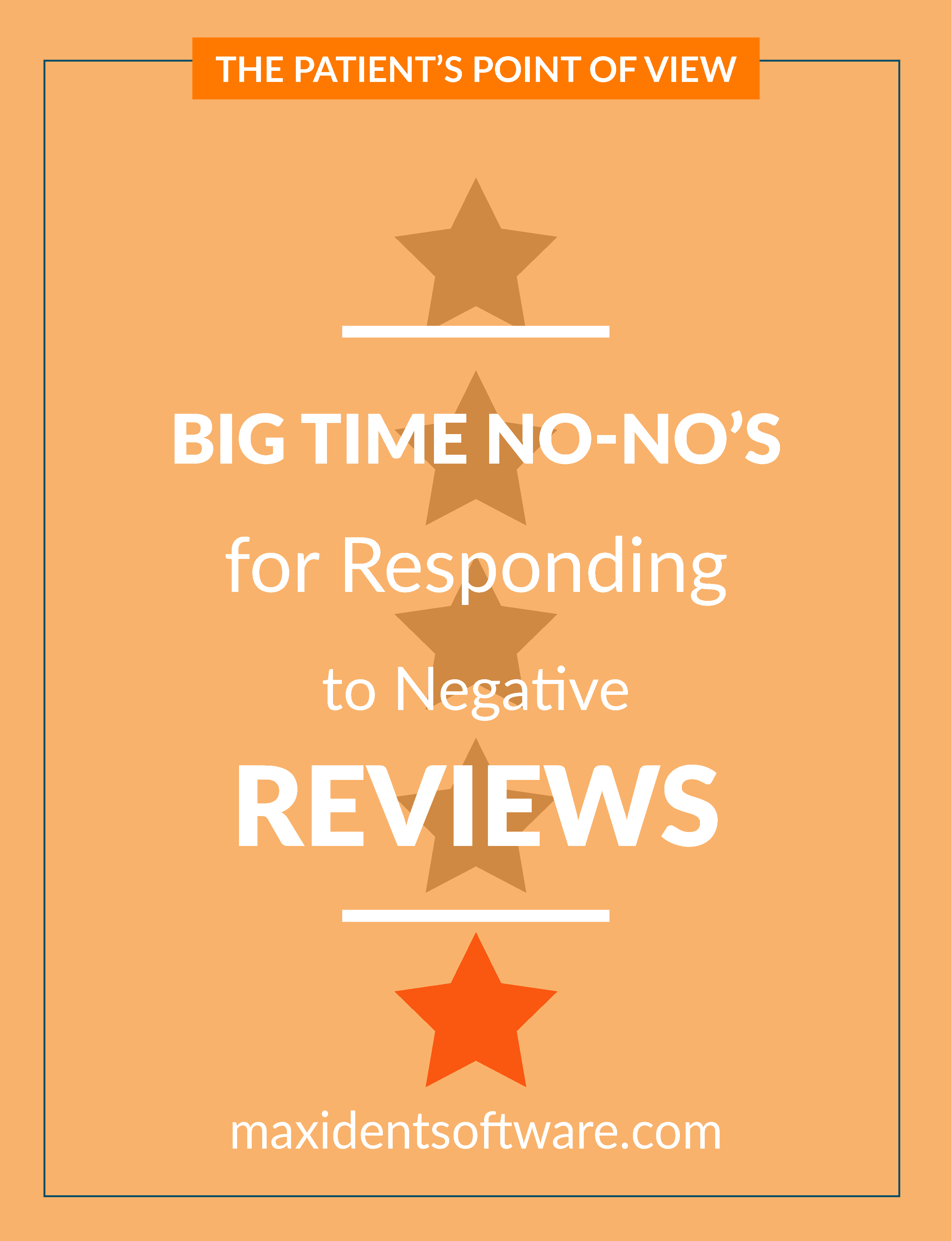 Big Time No-No's for Responding to Negative Reviews