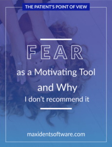 Fear as a Motivating Tool and Why I don't recommend it