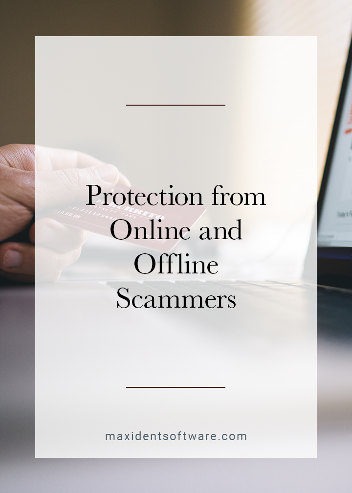 Protection from Online and Offline Scammers